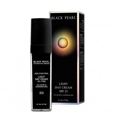 SEA OF SPA Dieninis kremas normaliai / mišriai odai BLACK PEARL SPF25, 50 ml