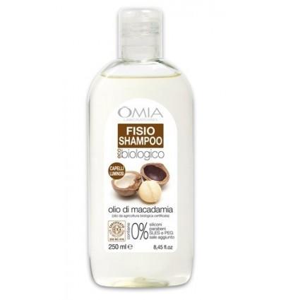 OMIA Ekologiškas šampūnas su makadamijos riešutų aliejumi, 250 ml