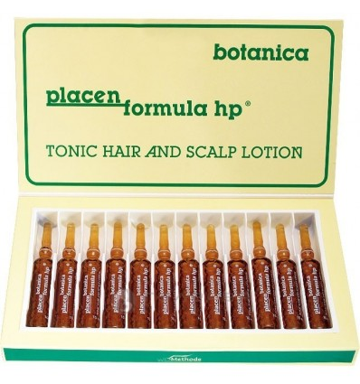 WT METHODE Stipraus poveikio ampulės su placenta PLACEN FORMULA HP BOTANICA Nr.4, 12x10ml