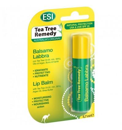 ESI Natūralus lupų balzamas su arbatmedžiu ir arganu (nuo Herpes), 5,7 g