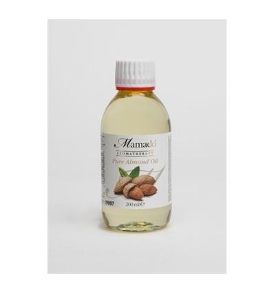 MAMADO Nerafinuotas migdolų aliejus, 200 ml