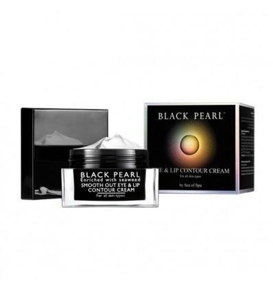 SEA OF SPA Paakių ir lūpų kremas BLACK PEARL, 30 ml