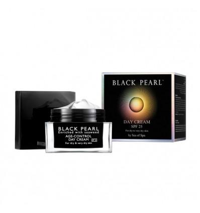 SEA OF SPA Dieninis kremas su SPF25 sausai odai BLACK PEARL, 50 ml