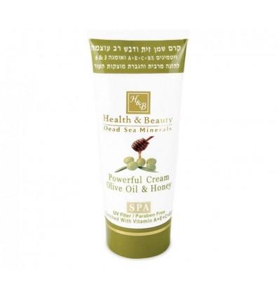 HEALTH & BEAUTY Efektyvus alyvuogių aliejaus ir medaus kremas, 180 ml