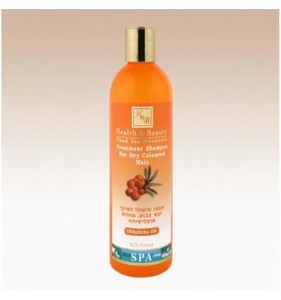 H&B Šampūnas dažytiems plaukams su šaltalankiu, 400 ml
