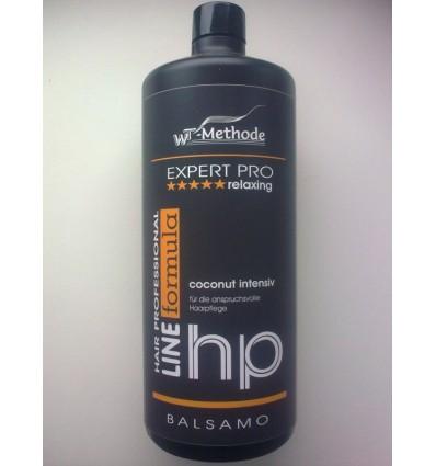 WT METHODE Intensyvi priemonė silpniems plaukams COCONUT balzamas, 1000 ml