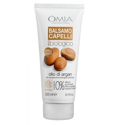 OMIA Ekologiškas balzamas plaukams su argano aliejumi, 200 ml