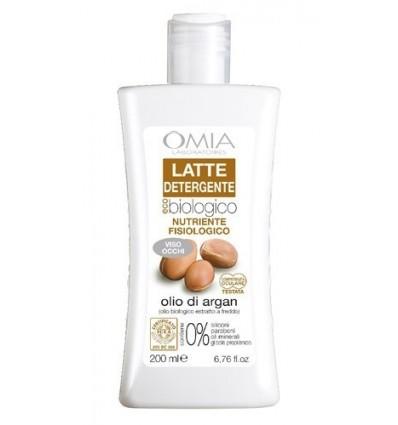 OMIA Ekologiškas valomasis pienelis su argano aliejumi, 200 ml