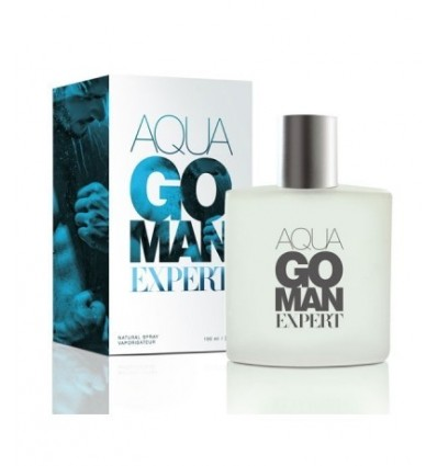 Kvepalai AQUA GO MEN EXPERT EDT, 100 ml