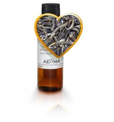 AKOMA Juodųjų sėklų (juodgrūdžių) aliejus (nerafinuotas, šalto spaudimo), 60 ml