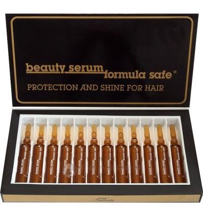WT METHODE Itin stipraus poveikio grožio ampulės BEAUTY SERUM FORMULA SAFE NR. 3, 12x10 ml