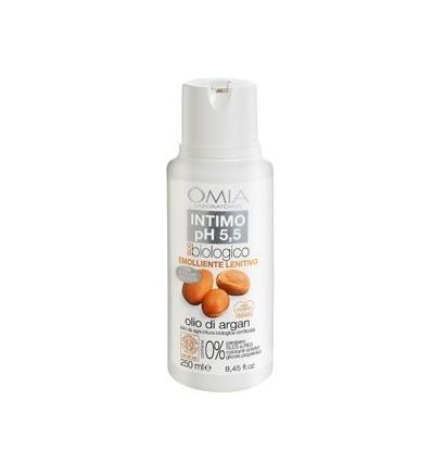 Omia ekologiškas intymios higienos prausiklis arganas, 250 ml