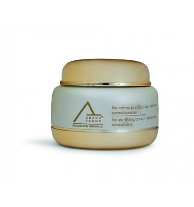 ABANO TERME odos riebumą reguliuojantis bio - kremas su hiperterminiu vandeniu purifyng sebum normalizing, 50 ml