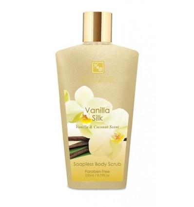 HEALTH & BEAUTY Bemuilis kūno šveitiklis vanilė/šilkas, 250 ml