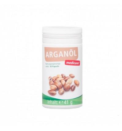 MEDICURA Argano aliejaus kapsulės, 60 kaps.