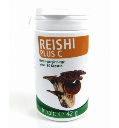 MEDICURA Maisto papildas REISHI su vit. C, 60 kaps.
