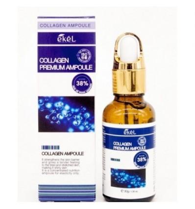 EKEL Premium klasės ampulė - serumas su kolagenu, 30 ml