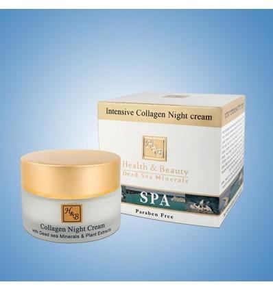 H&B Intensyvus kolageninis kremas nakčiai INTENSIVE COLLAGEN NIGHT, 50 ml