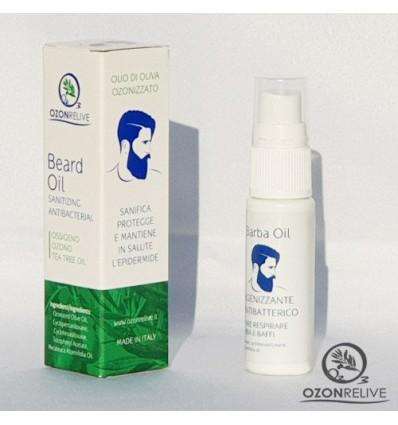OZONRELIVE antibakterinis ozonuotas aliejus barzdai, 20 ml