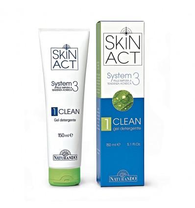 Naturando Skin Act, Nr. 3, valomasis gelis, 150 ml