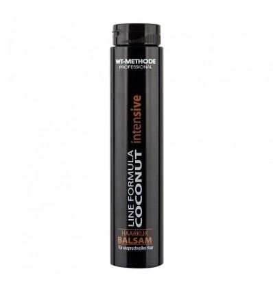 WT METHODE Intensyvi priemonė silpniems plaukams COCONUT balzamas, 250 ml