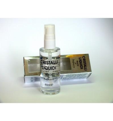 BIOPHARMA Skystieji kristalai su linų sėmenimis BIOOIL CRISTALLI LIQUIDI, 60 ml