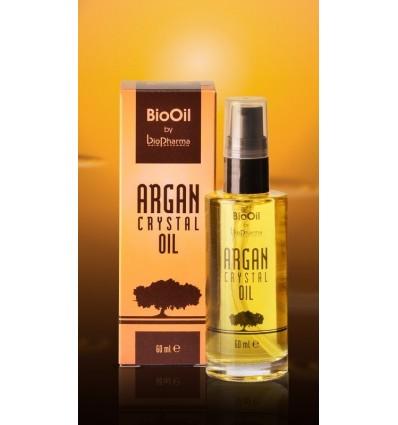 BIOPHARMA Rinkinys ARGAN CRYSTAL OIL RINKINYS (šampūnas+kaukė+serumas 60 ml)