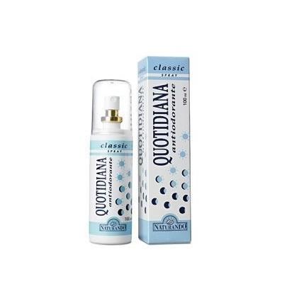 NATURANDO Purškiamas dezodorantas QUOTIDIANA, 100 ml
