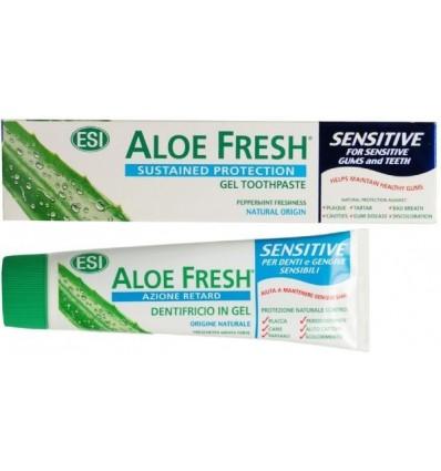 ESI Aloe vera dantų pasta jautriems dantims SENSITIVE, 100 ml
