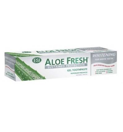 ESI  Aloe vera dantų pasta balinanti WHITENING, 100 ml
