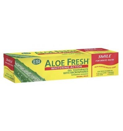 ESI Aloe vera dantų pasta balinanti jautriems dantims SMILE, 100 ml
