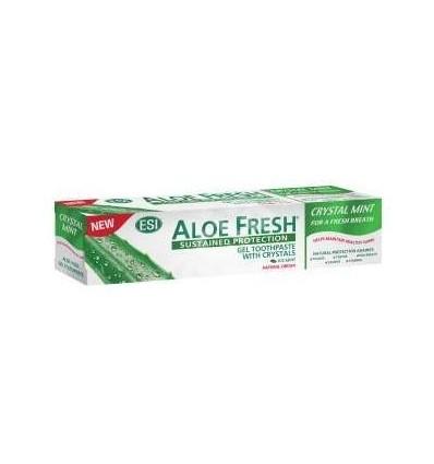 ESI  Aloe vera dantų pasta su kristalais CRYSTAL MINT, 100 ml